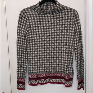 NWT J. CREW The Reeds funnel neck sweater S